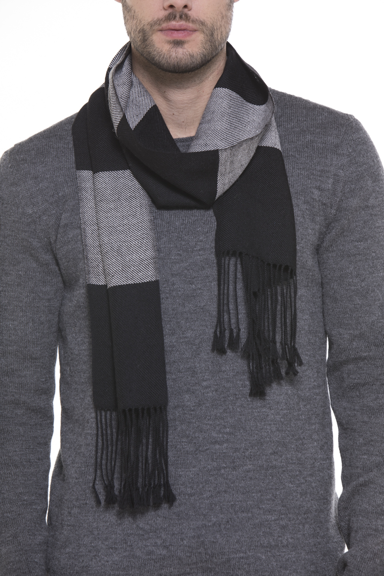Jack Striped 100% Cashllama Scarf