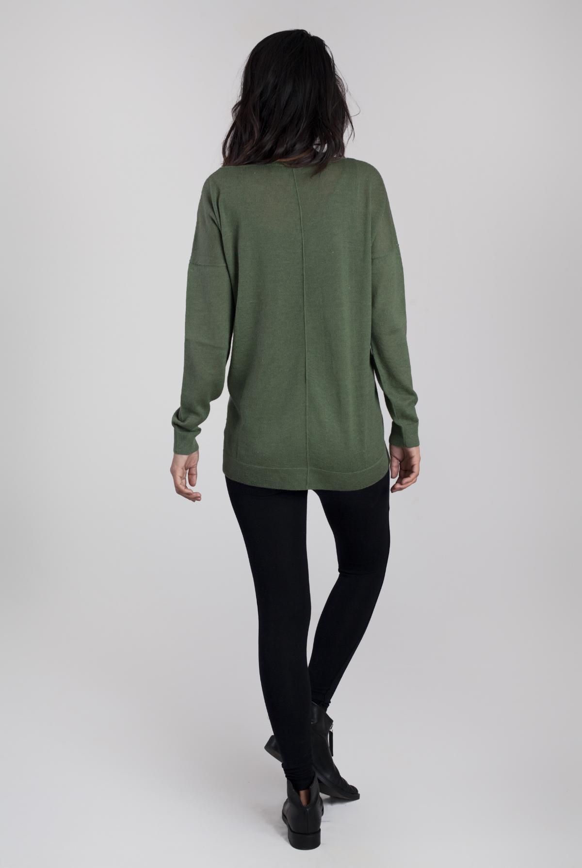 Gaia CashLlama & Silk Sweater